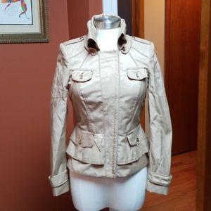 White House Black Market tan jacket